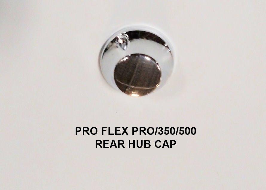 Electric Hub Caps : Rear hub cap priority electric transportation